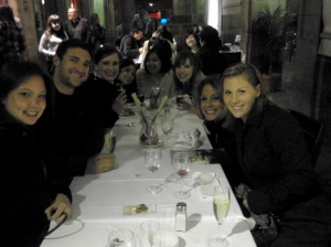 Birthday dinner at El Quatre Gats