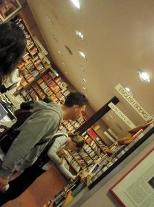 A bookstore in Barcelona