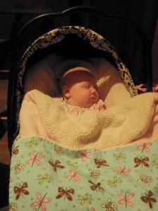 Tavis and Katrina's Baby Burrito!