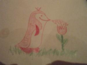 Andrea's penguin.