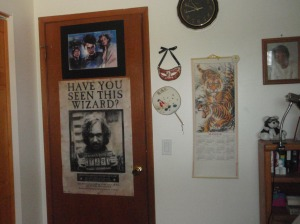 My Harry Potter corner.