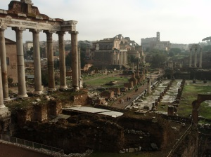 The Roman Forum, my favorite Roman ruins.