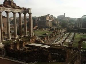 The Roman Forum, my favorite Roman ruins.