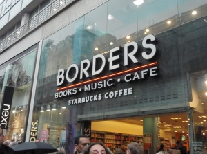 It always made me happy to see bookstores in Europe.